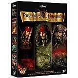 Pirates des Caraibes - La trilogie : La malediction du Black Pearl + Le secret du coffre maudit + Jusqu'au bout du monde - co
