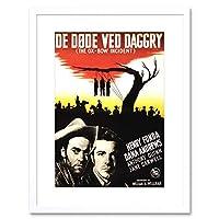 Ad Movie Film Ox Bow Incident Swedish Release Fonda Framed Wall Art Print 映画膜壁