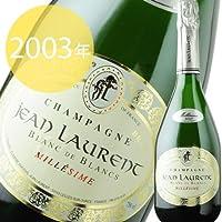 ミレジメ・ブラン・ド・ブラン ジャン・ローラン 2003年 フランス シャンパーニュ シャンパン・白 辛口 750ml