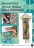 Stenciled Mixed Media Wall Hanging [DVD]