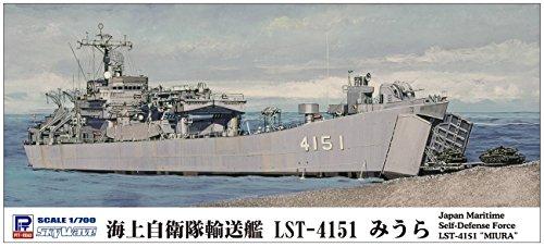 ピットロード 1/700 スカイウェーブシリーズ 海上自衛隊輸送艦 LST-4151 みうら プラモデル J83