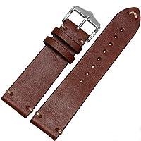 クラシックヴィンテージLeather Watch Band Strap for OMEGAまたはRolex 55131675654216801803Submariner GMT 22mm ブラウン
