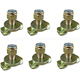 Heavy Duty L Track Stud Fitting for L Track and Airline Track-6 Packs
