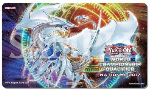 遊戯王 WCQ 2017 プレイマット コズミック・ブレイザー・ドラゴン