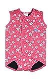 Splash About(スプラッシュアバウト) 保温&紫外線対策万全♪ ベビー用水着 「ベビーラップ」 対象:6~30ヶ月  (Mサイズ (6-18ヶ月), Pink Blossom)