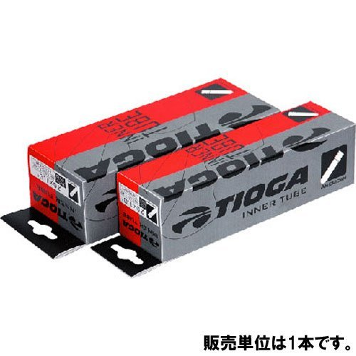"""TIOGA(タイオガ) インナー チューブ (米式) バルブ長:36mm 27.5""""×1.50~1.75"""" ETRTO:40/47-584"""