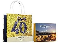 ロクシタン(L'OCCITANE) セルフラッピングキット40周年オリジナル XS