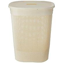 HOUZE - Mozaic Tall Laundry Basket (Beige)