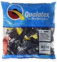 "LA Balloons 37443""Thank You Thank You Confetti"" Qualatex Latex Balloons (50 Pack), 11"", Multicolor [並行輸入品]"