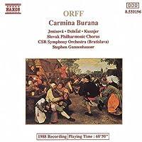 Carmina Burana by ORFF (1992-06-30)