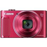 Canon コンパクトデジタルカメラ Power Shot SX620HS レッド 光学25倍ズーム PSSX620HS(RE)