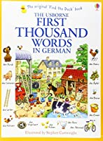 First Thousand Words in German by H. Amery(2014-09-01)