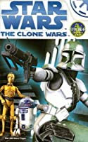 The Clone Wars Activity Book to Color With Stickers (Star Wars)