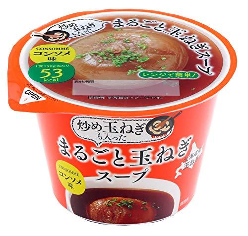 谷尾食糧工業 まるごと玉ねぎスープ(コンソメ) 190g×12個