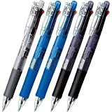 ゼブラ 4色ボールペン+シャープ クリップオンマルチ5本入