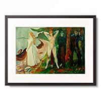 エドヴァルド・ムンク Edvard Munch 「Frau in drei Stadien」 額装アート作品