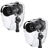 NEEWER 雨よけコート防塵防水カメラ保護レインウェア Canon Nikon Sony Samsung Pentax Olympus Fuji および他の DSLR カメラ(2pcs) 【並行輸入品】