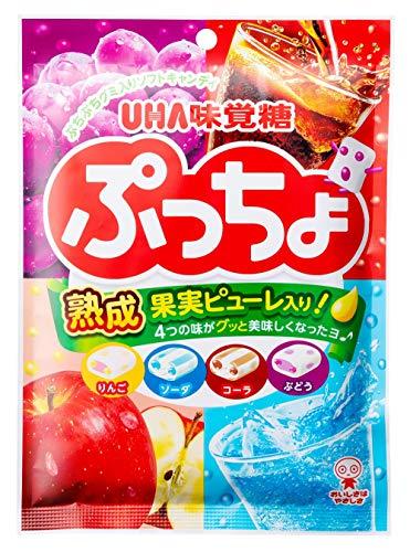 味覚糖 ぷっちょ4種アソート 袋 93g ×6袋