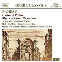 ラモー:歌劇「カストルとポリュクス」(1754年版)