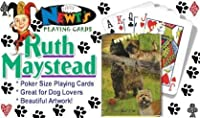Best Friends Playing Cards by Ruth Maystead - Cairn Terrier [並行輸入品]