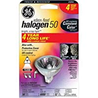 GE 23254Narrow投光照明ハロゲンmr16バイピン電球、50-watt、6/ CS