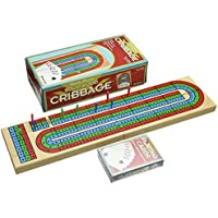 Pressman Toy Corporation Wood Cribbage with Cards [並行輸入品]