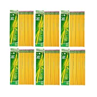 (3 Hard (6-Pack)) - Dixon Ticonderoga Wood-Cased 3 H Pencils, Box of 12, Yellow (13883) (6-Pack)