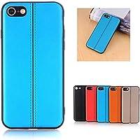 iPhone 7 / iPhone 8ケース Trysunny 全面保護 超薄型 カバー ハード 超軽量 高級感 超スリム 耐衝撃 指紋防止 おしゃれ 簡単便利なカバー,ブルー