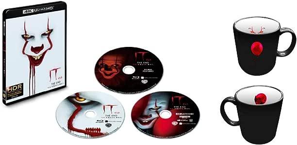"""【Amazon.co.jp限定】IT/イット THE END """"それ""""が見えたら、終わり。 4K ULTRA HD&ブルーレイセット (初回仕様/3枚組/ボーナス・ディスク付)(オリジナルマグカップ付) [Blu-ray]"""