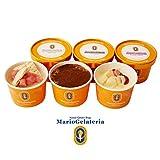 ジェラート専門店 マリオジェラテリア 【大人のジェラートセット 6個入】 110ml 3種 アイスクリーム ギフト セット