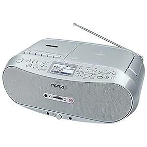 ソニー CDラジオカセット メモリーレコーダー CFD-RS501