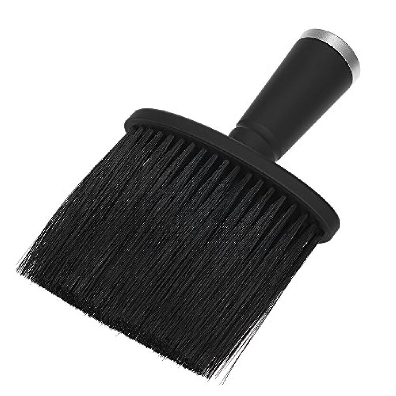 ネックダスターブラシ サロン用ブラシ ヘアクリーニングブラシ 快適 柔らかい ヘアカット用 美容院ヘアツール プロ