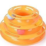猫 おもちゃ ペット 用品 遊ぶ盤 ペット おもちゃ 運動不足 ストレス 解消 オレンジ