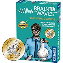 Brainwaves: The Brilliant A Kosmos Game from Thames & Kosmos   Fun, Scientist Approved, Family-Friendly Games to Sharpen You Mind & Train Your Brain, for Ages 8+