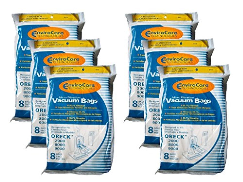 Oreck XL ccpk8 Allergen Upright Vacuum Cleanerバッグxl7 xl21 2000 8000 9000 ホワイト 813