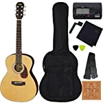 【定番8点セット】ARIA アリア ADF-01 3/4 N Natural 580mmスケール ミニ・フォークギター