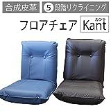 フロアチェアkant コンパクト座椅子 (ブラウン)