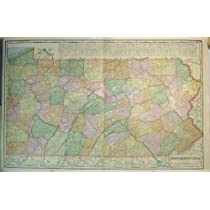 地図ニュージャージーメリーランドデラウェア州ペンシルバニアアメリカ