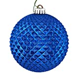 Best Vickermanクリスマスツリー - Vickerman 529744-2.75インチ ブルーデュリアン グリッターボール クリスマスツリーオーナメント (12個パック) (N188402D) Review