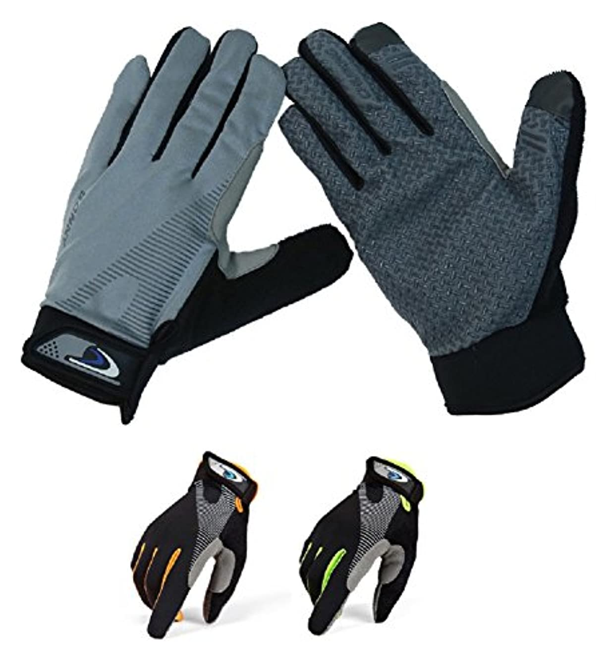 ハロウィン煙生まれSchlegel トレッキング グローブ 通気性 伸縮素材 スマホ対応 春夏 手袋 クライミング ウォーキング サイクリング