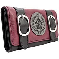 Supernatural Winchester Bros Hunters Kit Red Coin & Card Tri-Fold Purse