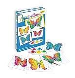 Sentosphere 06610 Aquarellum Junior Butterfly Paint Set with 4 Templates