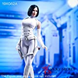 VSTOYS 1/6 Assassin Tight Clothes for Female Action Figure TBLeague Phicen (White)