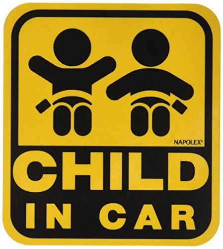 ナポレックス 傷害保険付き CHILD IN CAR セーフ...