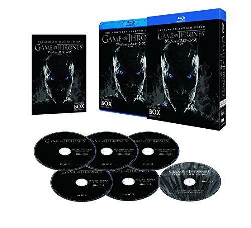 ゲーム・オブ・スローンズ 第七章:氷と炎の歌 ブルーレイ コンプリート・ボックス (初回限定生産/6枚組) [Blu-ray]