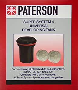 Paterson Universal tank and 2 reels-#115 by PATERSON [並行輸入品]