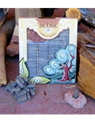 Hickory木製Incense – 100レンガPlus Burner – Incienso De Santa Fe