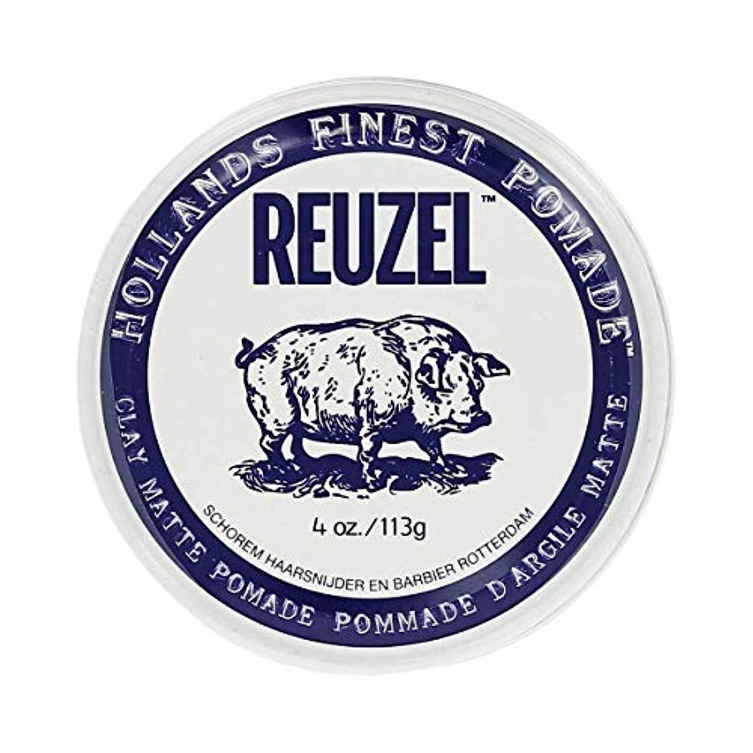 中央値征服然としたREUZEL ルーゾー マットクレイポマード 113g[海外直送品] [並行輸入品]