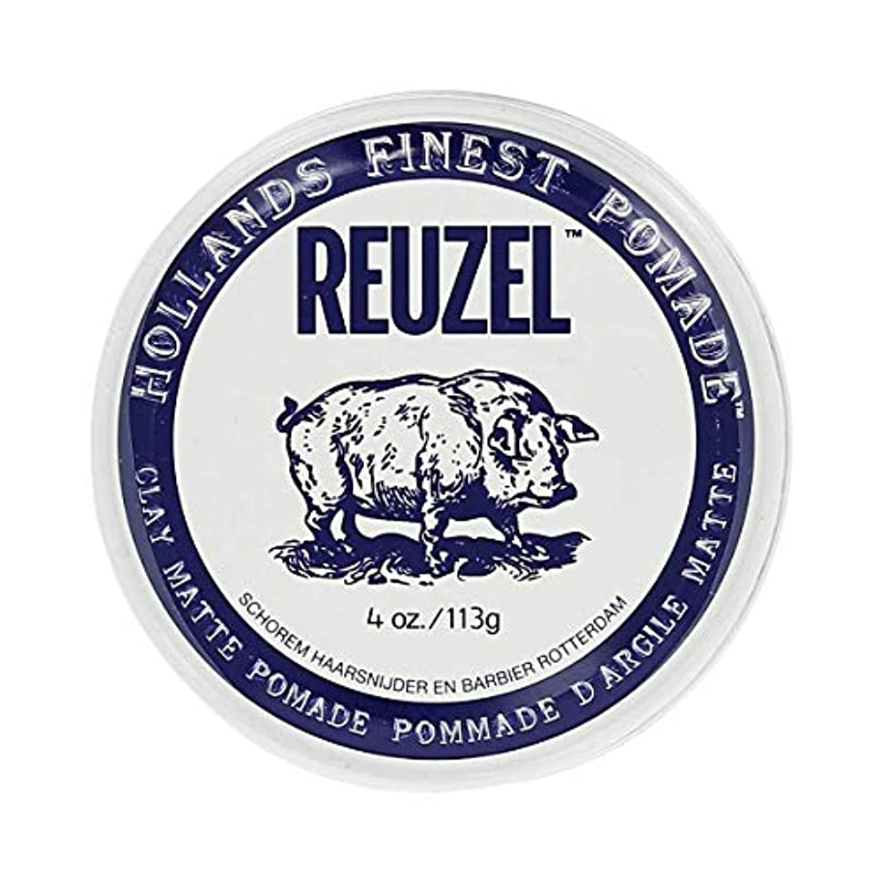フルーティー実装する部分REUZEL ルーゾー マットクレイポマード 113g[海外直送品] [並行輸入品]