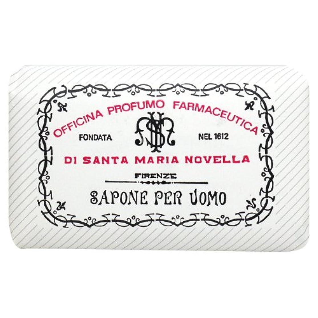 報酬有限段階サンタ マリア ノヴェッラ Santa Maria Novella メンズソープ ベティベール 130g